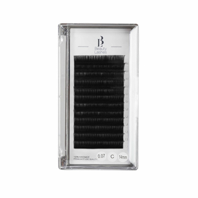Mink Matt Lashes  C | 0,07 | 14 mm